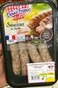 Saucisses de Volaille - Produit