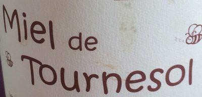Miel de Tournesol - Ingrédients