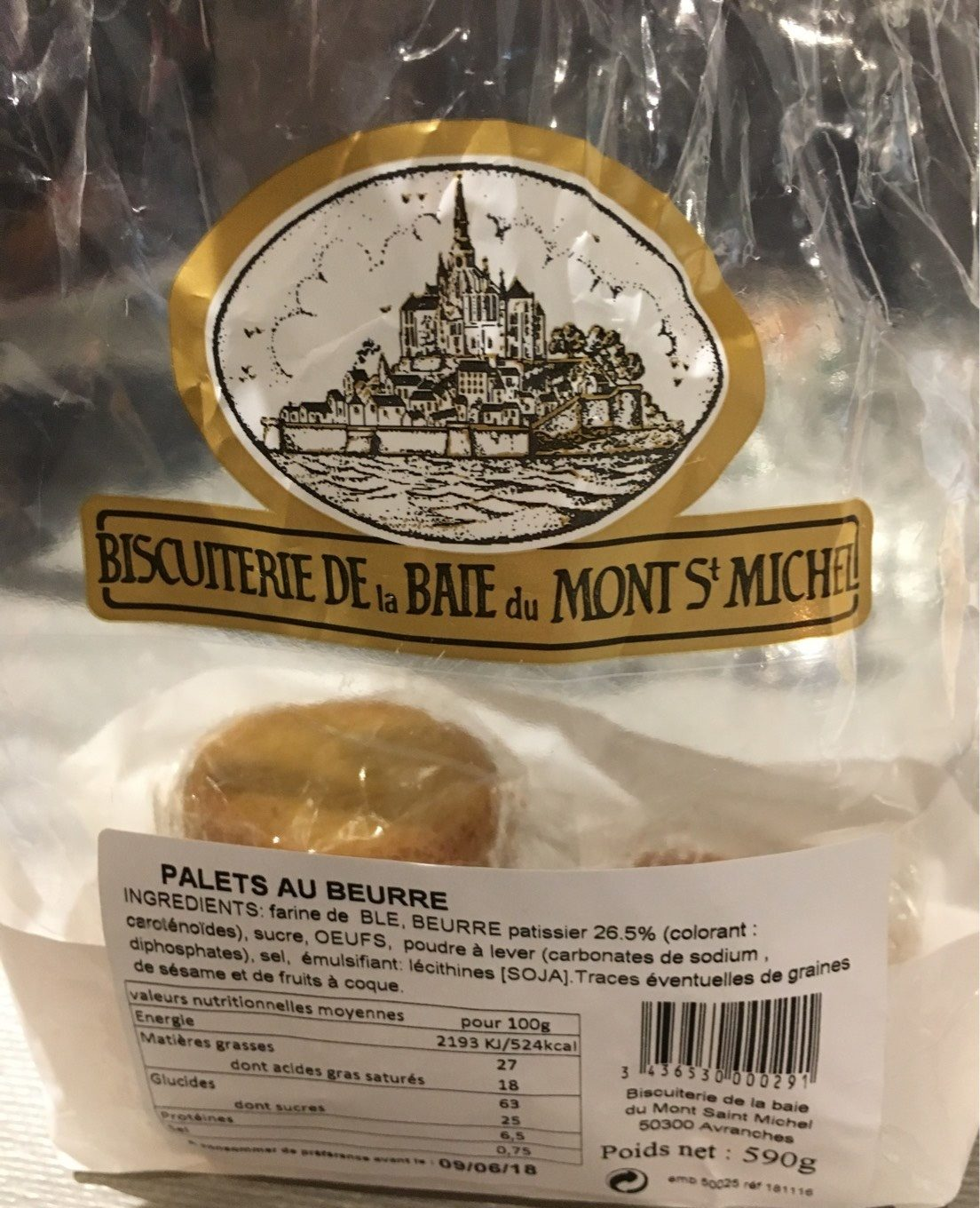 Palets Bretons - Product