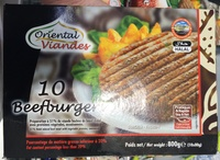 10 Beefburger - Product