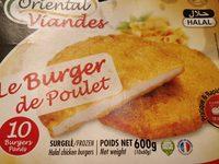 Burgers de poulet HALAL - Produit - fr