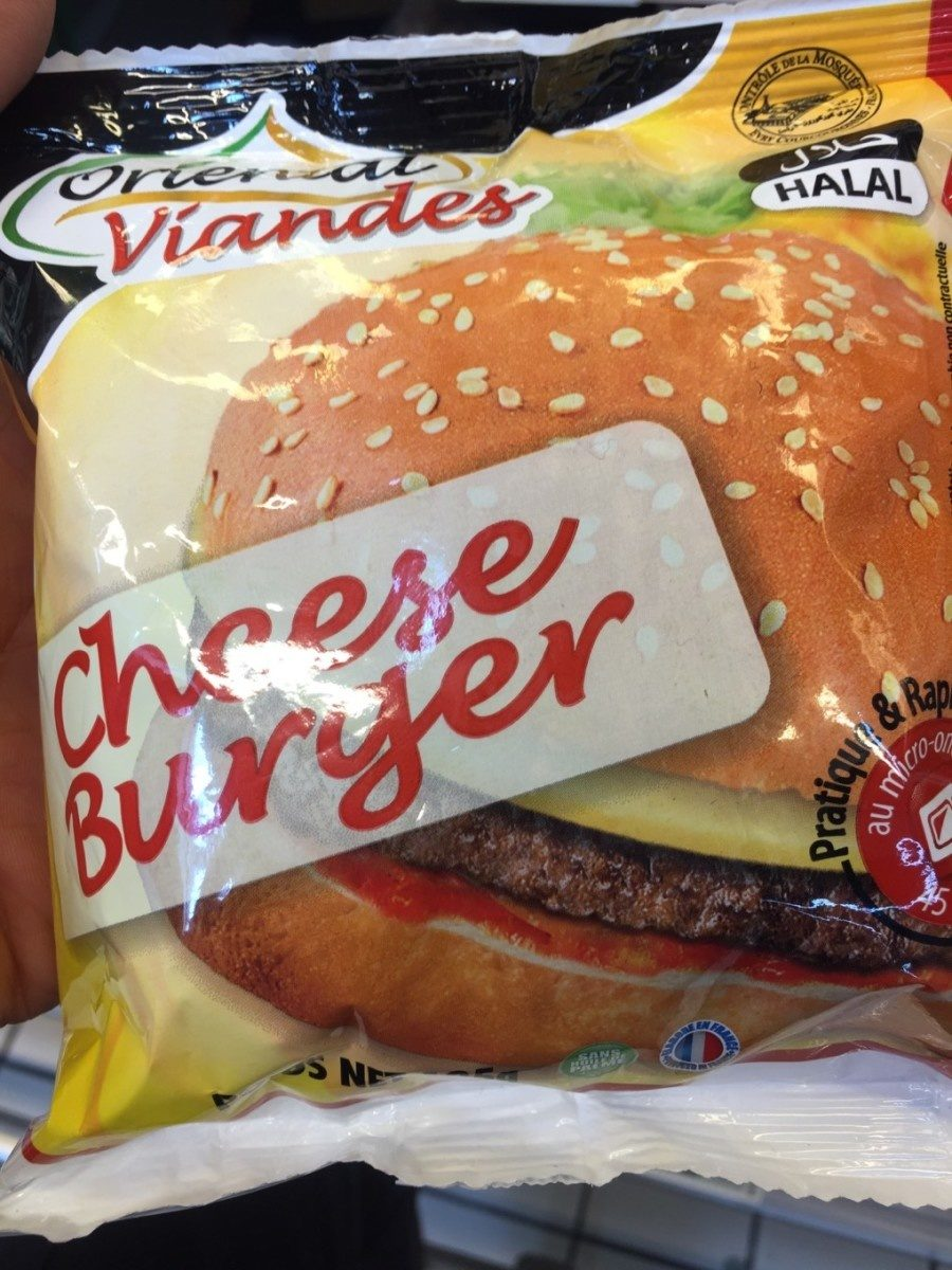 Cheese Burger Halal - Product