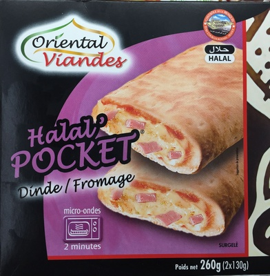 Halal' Pocket Dinde / Fromage - Product