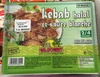 Kebab halal et sauce blanche - Surgelé - Product