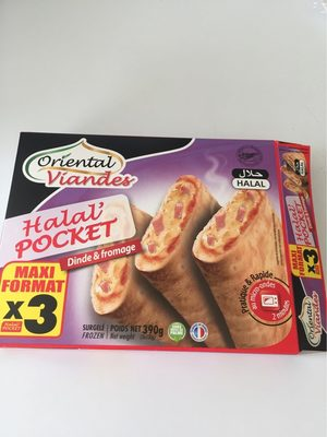 Halal Pocket dinde et fomage - Product