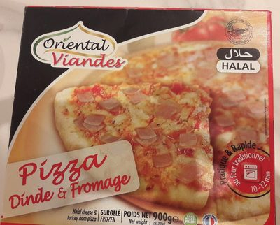 Pizza dinde et fromage - Product