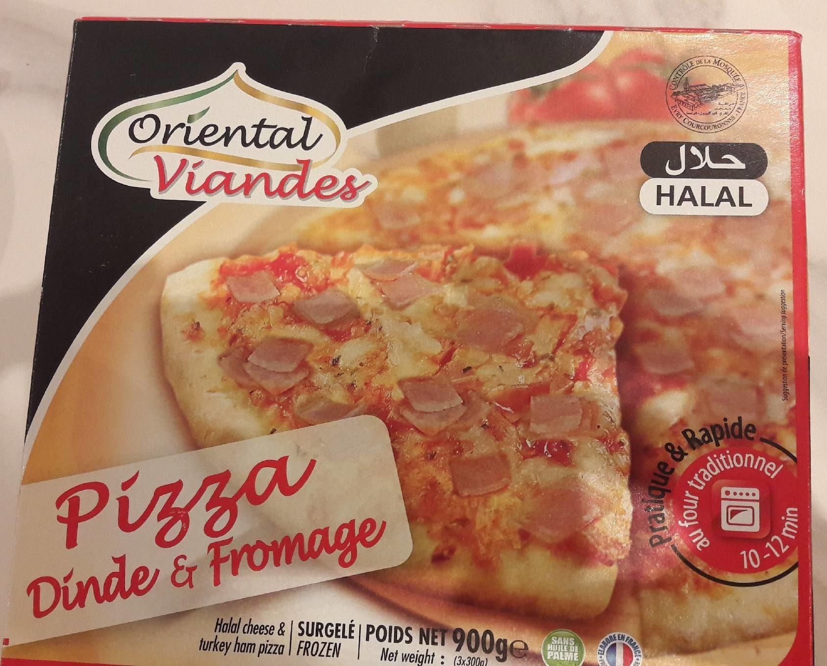 Pizza dinde et fromage - Oriental Viande - 900 g