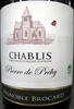 Chablis AOC 2011 Bio Pierre de Préhy - Produit