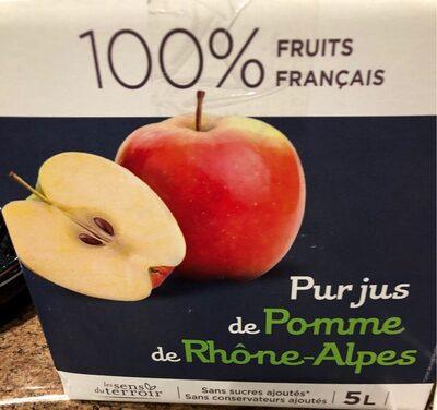 Pur jus de pomme de Rhone Alpes - Product