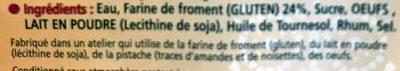 6 Crêpes Fraîches de Froment - Ingrediënten