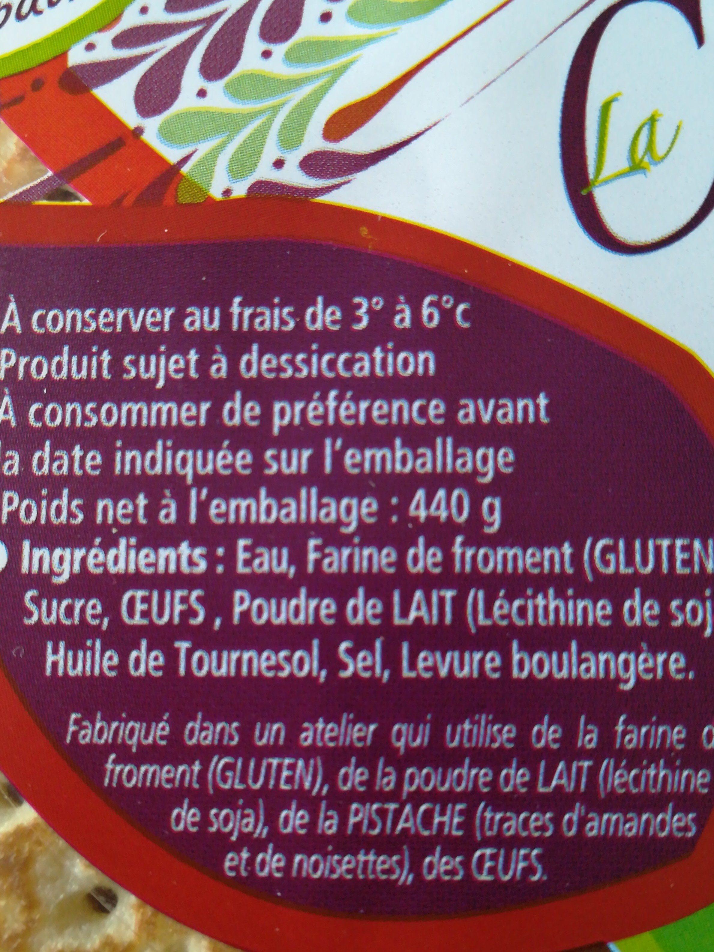 8 Crêpes fraîches moelleuses - Ingrédients - fr