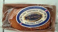 Gaufres fines pour beurre - Product - fr