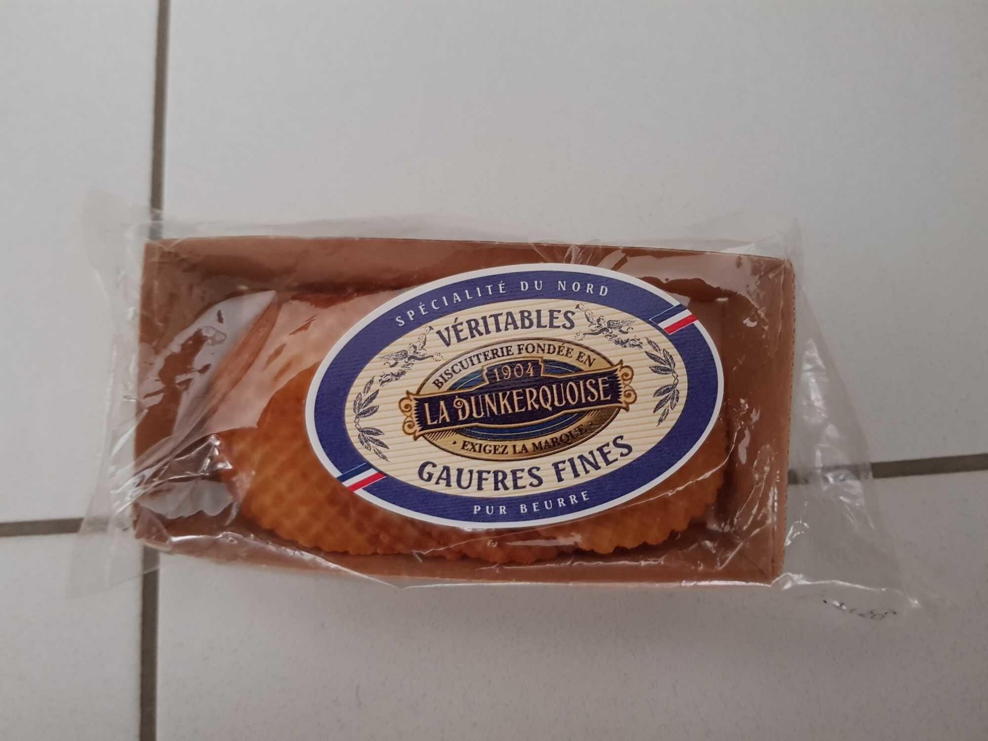Gaufres fines pour beurre - Ingredients - fr