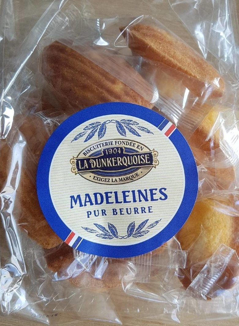 Madeleines pur beurre - Produit - fr