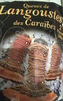 Queues de langoustes des caraibes - Product