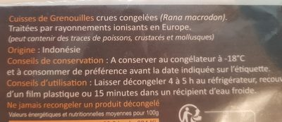 Cuisses de Grenouilles Surgelées - 2