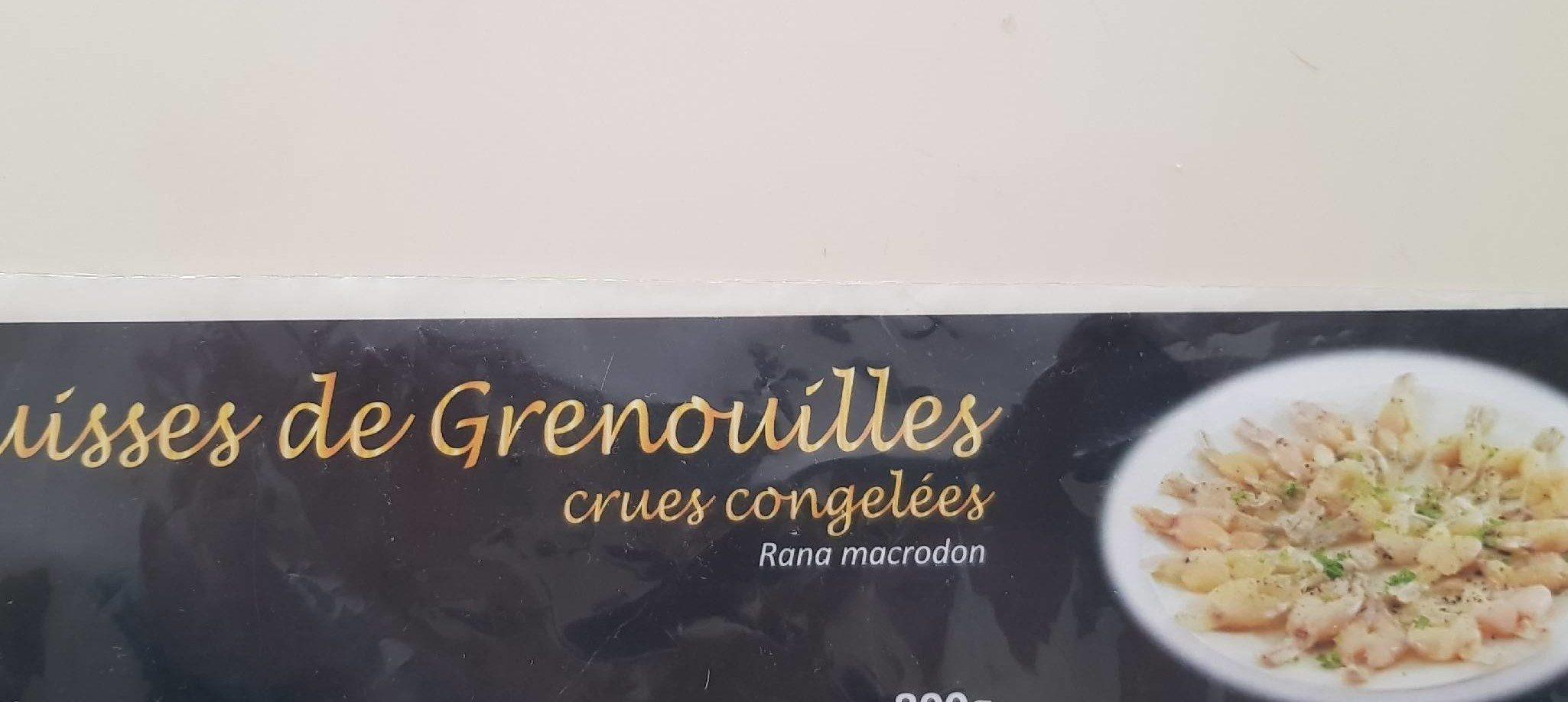 Cuisses de Grenouilles Surgelées - Produit - fr