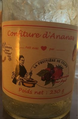 Confiture d'ananas - Product