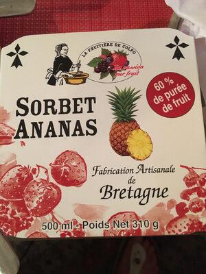 Sorbet ananas - Product