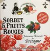 Sorbet 5 fruits rouges - Produit