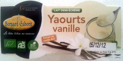 Yaourts vanille - Product