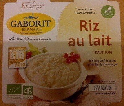 Riz au lait tradition - Produit - fr