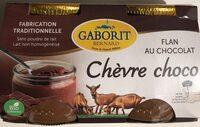 Chèvre choco - flan au chocolat - Produit - fr