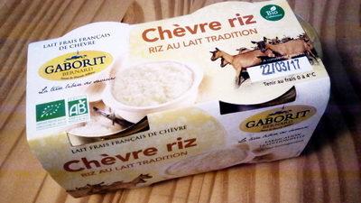 2 X 125G Riz Au Lait Chevre - Product - fr