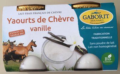 Yaourts de Chèvre Vanille - Produit - fr