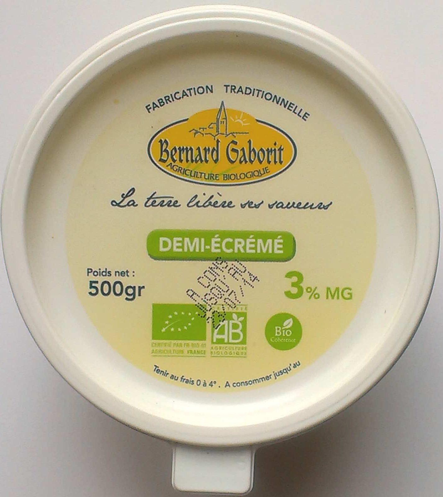 Fromage blanc lissé demi-écrémé - Product - fr