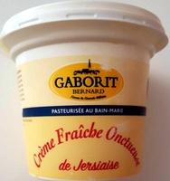 Crème fraîche onctueuse de Jersiaise - Produit