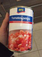 Tomates pelees - Produit - fr