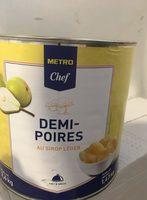 Demi-poires au sirop leger - Product