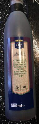 Condiment au vinaigre balsamique - Product