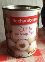 Litchis au sirop léger - Product - fr