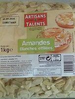 Amandes blanches effilées - Product