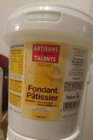 Fondant pâtissier - Product