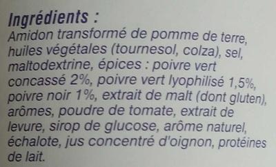Sauce aux poivres - Ingrediënten