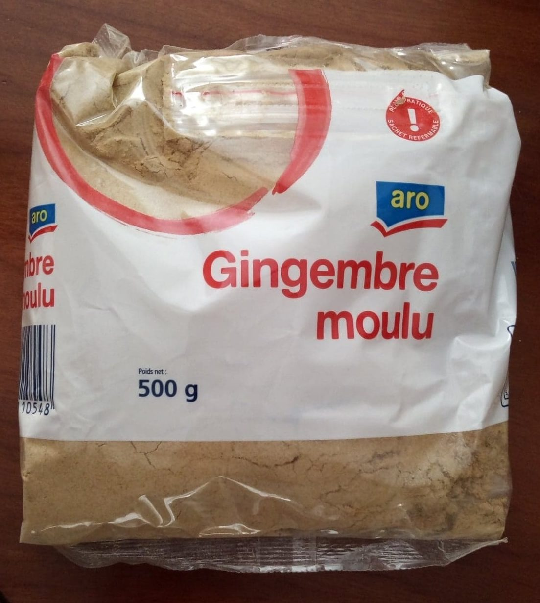 Gingembre moulu - Product - fr