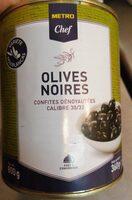 Olives noires - Product - fr