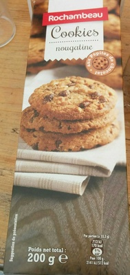 Cookies nougatine - Product - fr