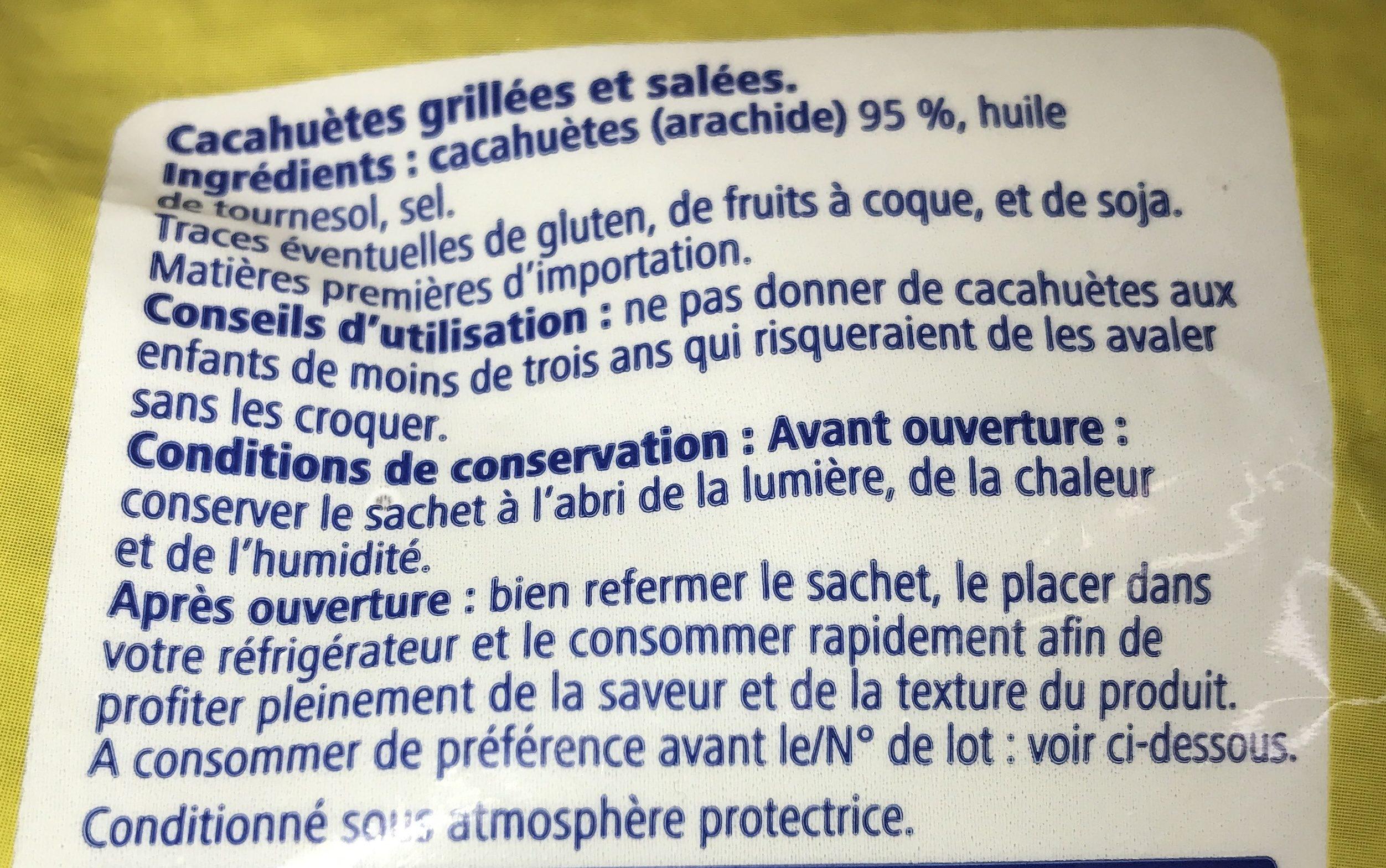 Cacahuète - Ingrédients - fr