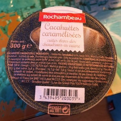 Cacahuètes caramélisées - Product - fr