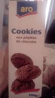 Cookies aux pépites de chocolat - Produit - fr