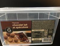 Pepites chocolat lait et speculoos - Produit