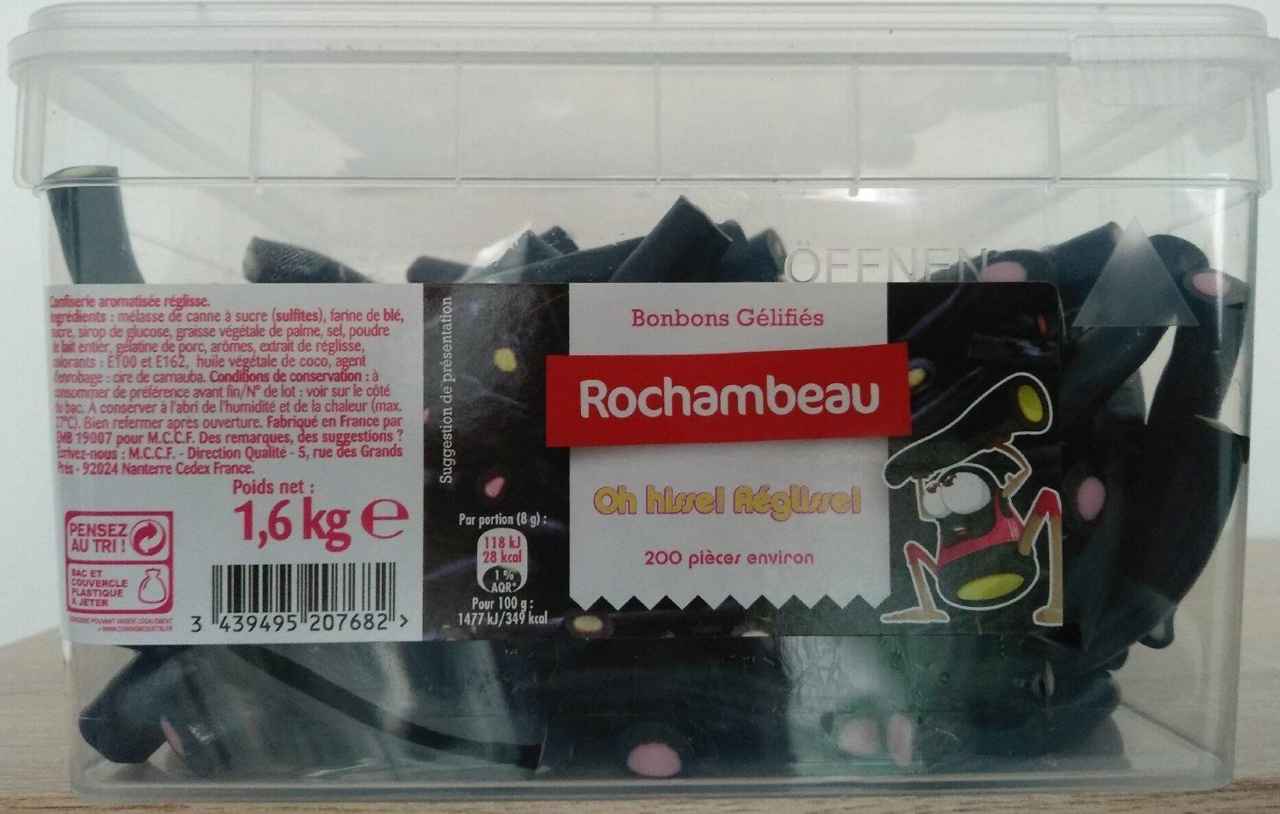 Oh hisse! Réglisse! - Product - fr