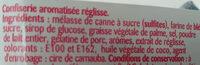 Oh hisse! Réglisse! - Ingredients - fr