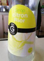 Sirop citron rior - Produit