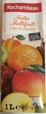 Nectar Multifruits à base de concentré - Produit