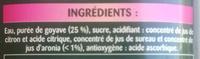Nectar Goyave - Ingrédients - fr